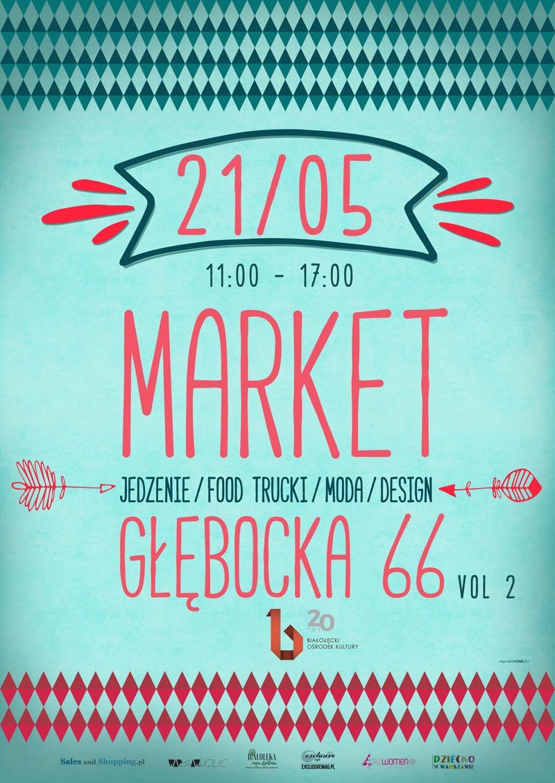 Market Głębocka w Warszawie 21 maja 2017