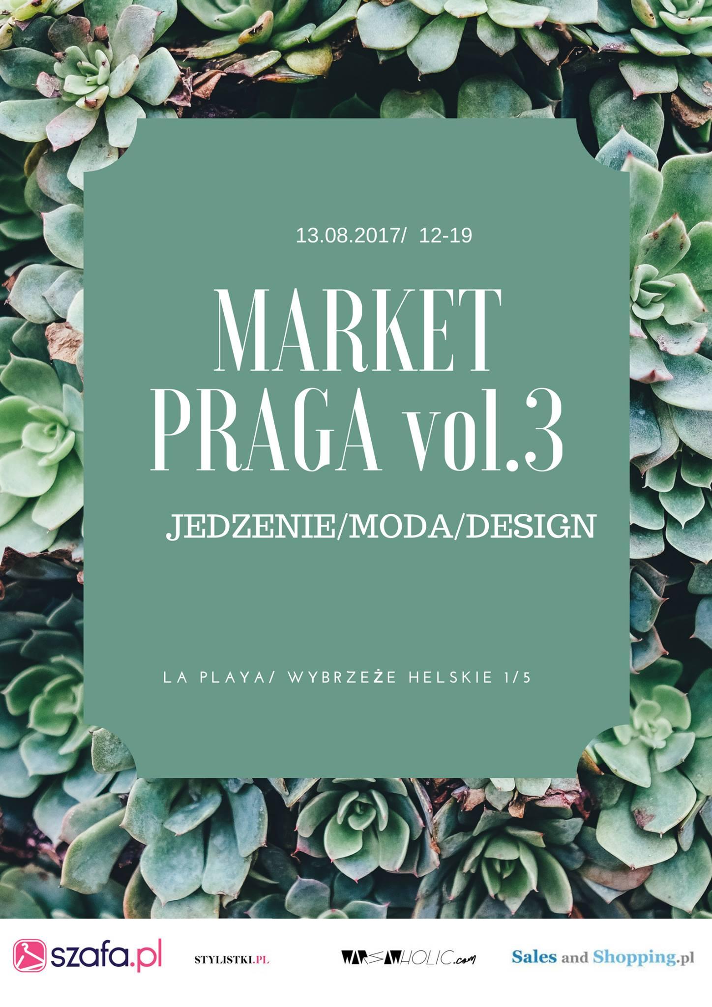 Market Praga w Warszawie 13 sierpnia 2017