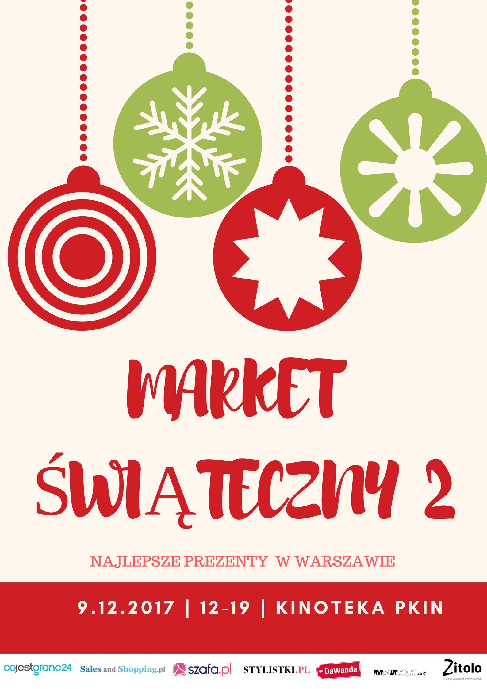 Market Świąteczny w Warszawie 9 grudnia 2017