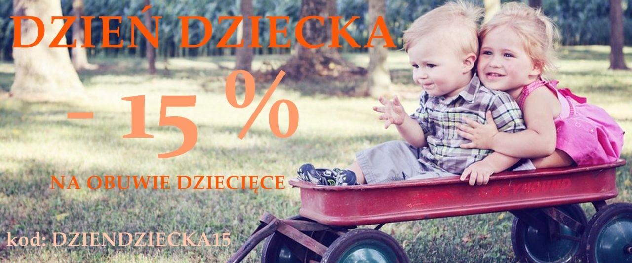 MarkoweObuwie.com.pl: 15% zniżki na obuwie dziecięce z okazji Dnia Dziecka