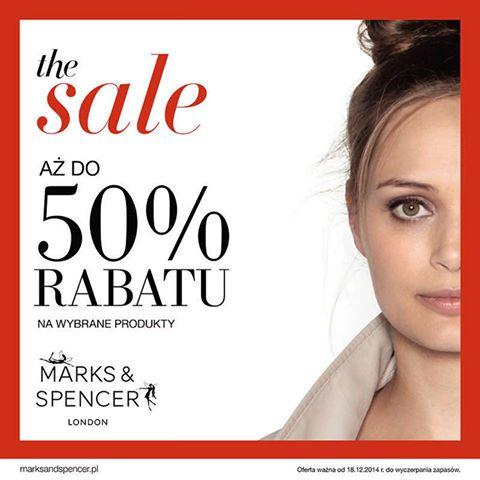 Marks & Spencer: do 50% rabatu na wybrane produkty