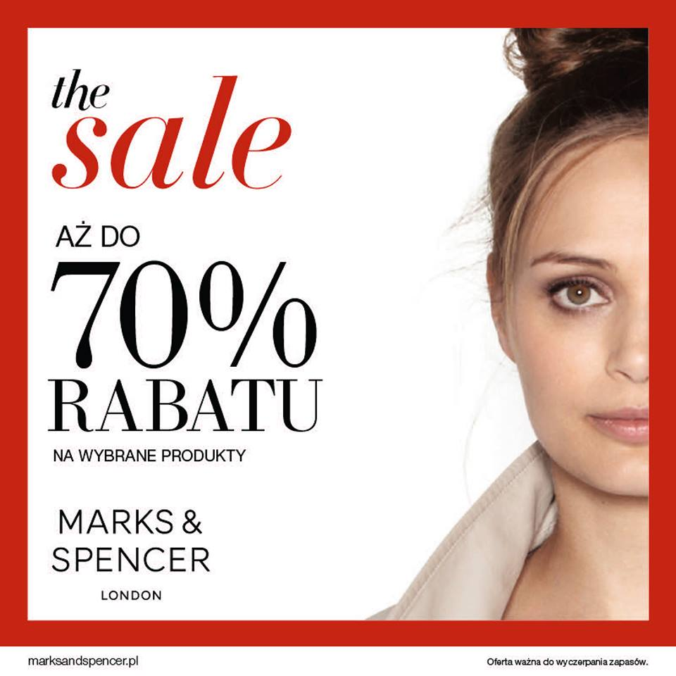 Marks & Spencer: wyprzedaż do 70%