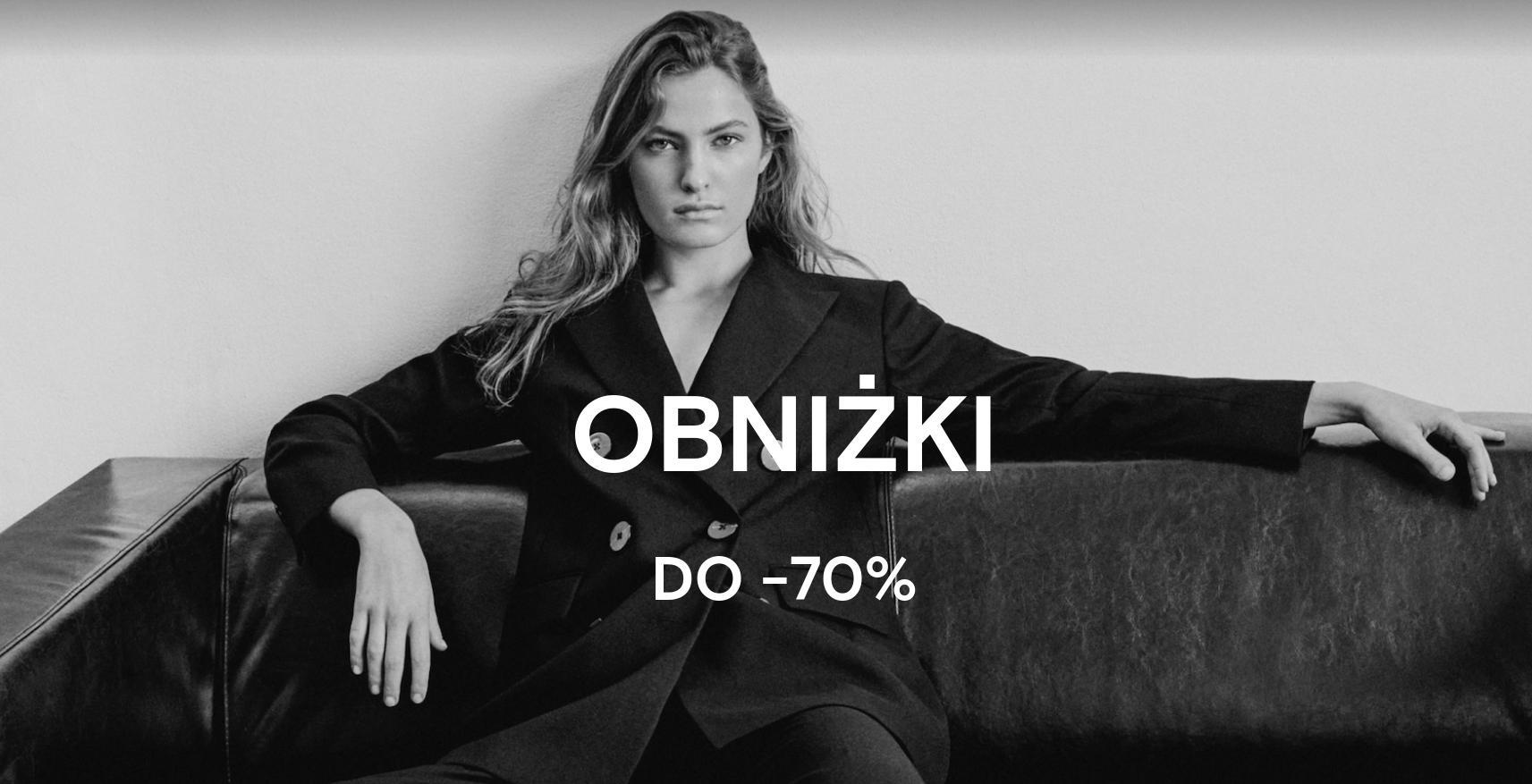 Massimo Dutti: do 70% zniżki na odzież damską oraz męską