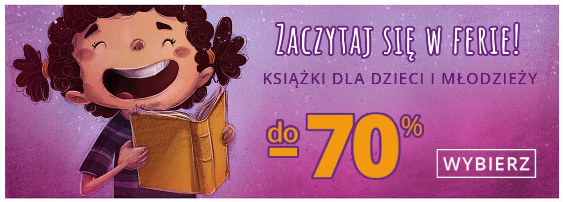 Matras: do 70% zniżki na książki dla dzieci i młodzieży