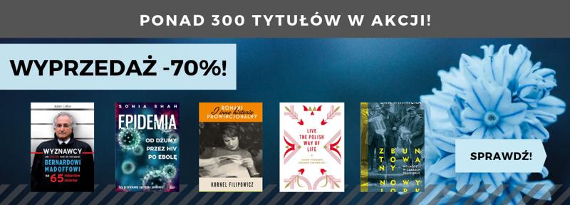 Matras: wyprzedaż 70% zniżki na książki