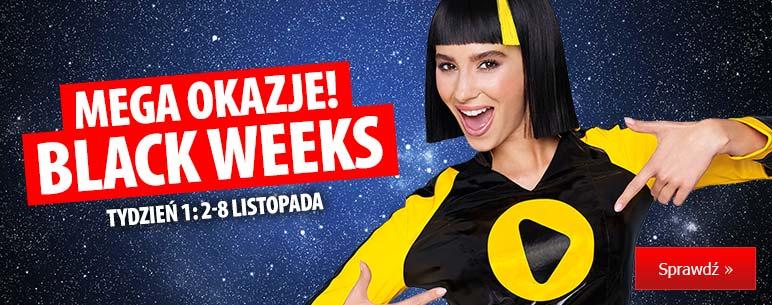 Black Friday MediaExpert: Black Weeks co tydzień nowe promocje