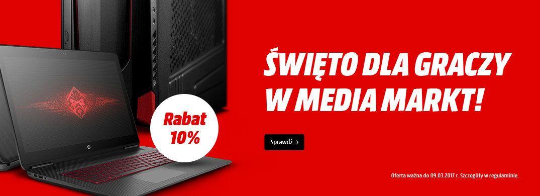 MediaMarkt: 10% rabatu na komputer lub laptop z kartą graficzną GeForce lub Radeon