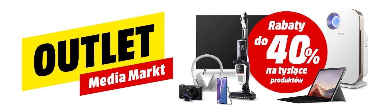 MediaMarkt: do 40% rabatu na tysiące produktów z outletu - telewizory, laptopy, smartfony, słuchawki, aparaty i inne