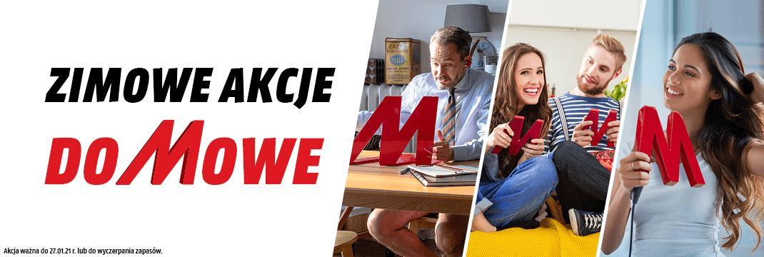 MediaMarkt: Zimowe Akcje Domowe do 700 zł rabatu na telewizory, laptopy, komputery stacjonarne, AGD i wiele innych