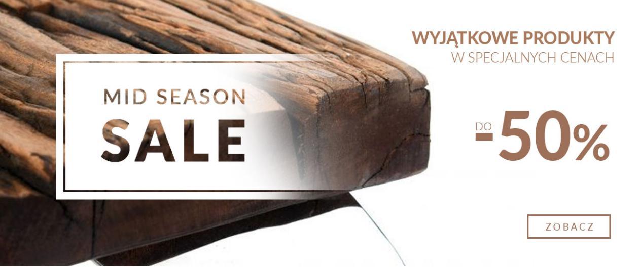 Miloo Home Miloo Home: wyprzedaż do 50% zniżki na meble do wnętrz i ogrodu
