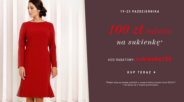 Modesta: 100 zł zniżki na sukienkę