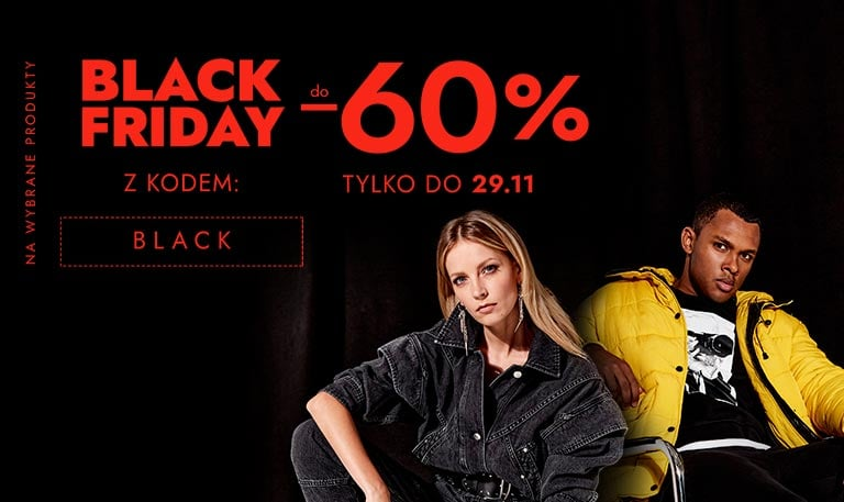 Modivo: Black Friday do 60% rabatu na odzież damską, męską i dziecięcą