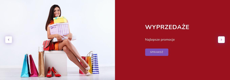Modna Kiecka: wyprzedaż do 50% zniżki na odzież damską - sukienki, bluzki, swetry, dresy