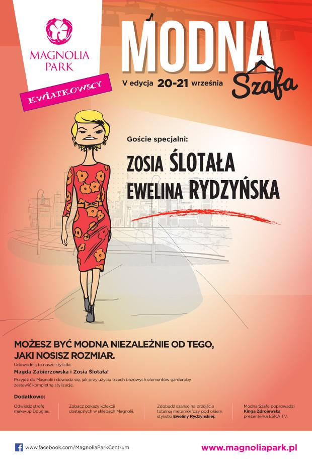 Modna Szafa w galerii Magnolia we Wrocławiu 20-21 września 2014