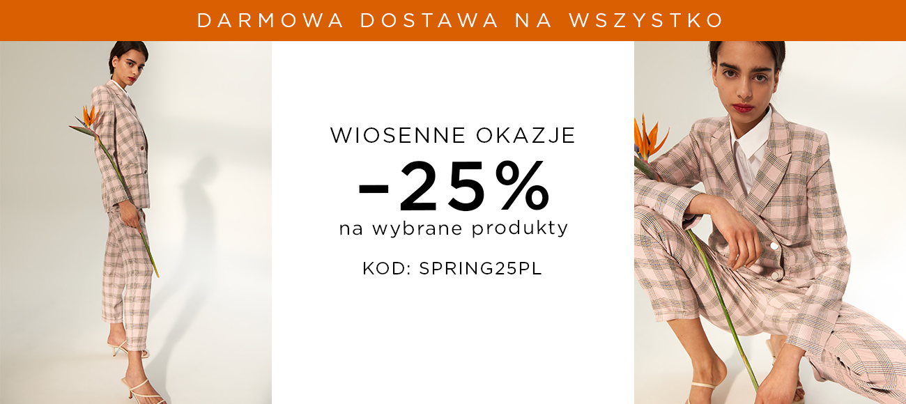 Mohito Mohito: 25% rabatu na wybrane produkty - wiosenne okazje