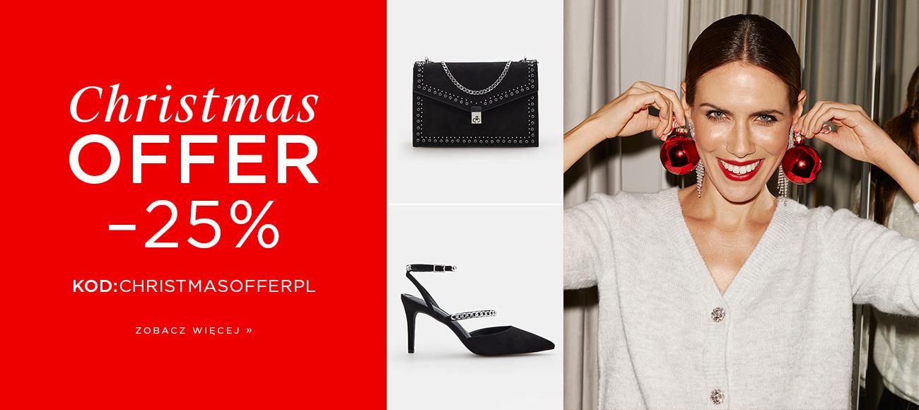 Mohito Mohito: Christmas Offer 25% rabatu na odzież damską, biżuterię, rękawiczki, szaliki, czapki
