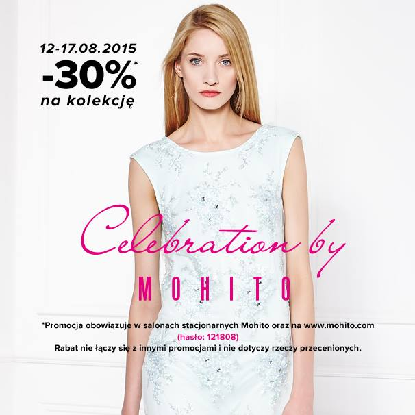 Mohito: 30% zniżki na kolekcję Celebration
