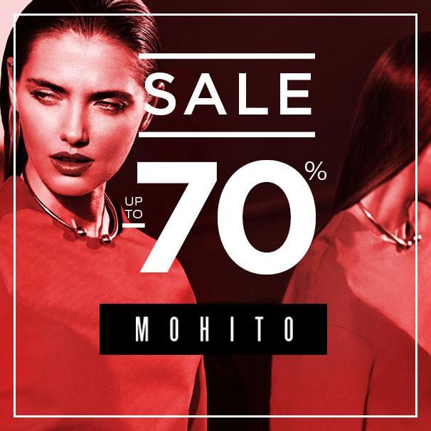 Mohito: wyprzedaż do 70%