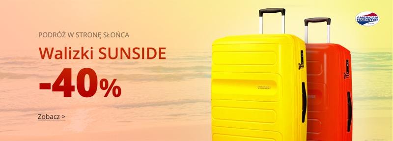 Moja Walizka: 40% rabatu na walizki marki American Tourister Sunside
