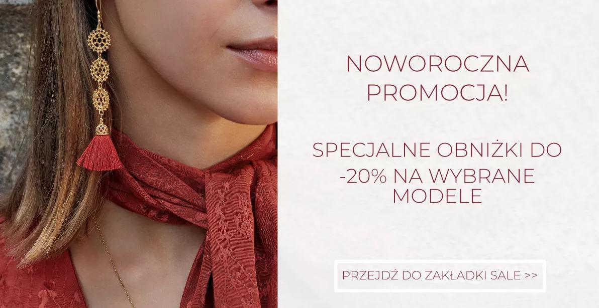 Mokobelle: 20% rabatu na wybrane modele biżuterii damskiej