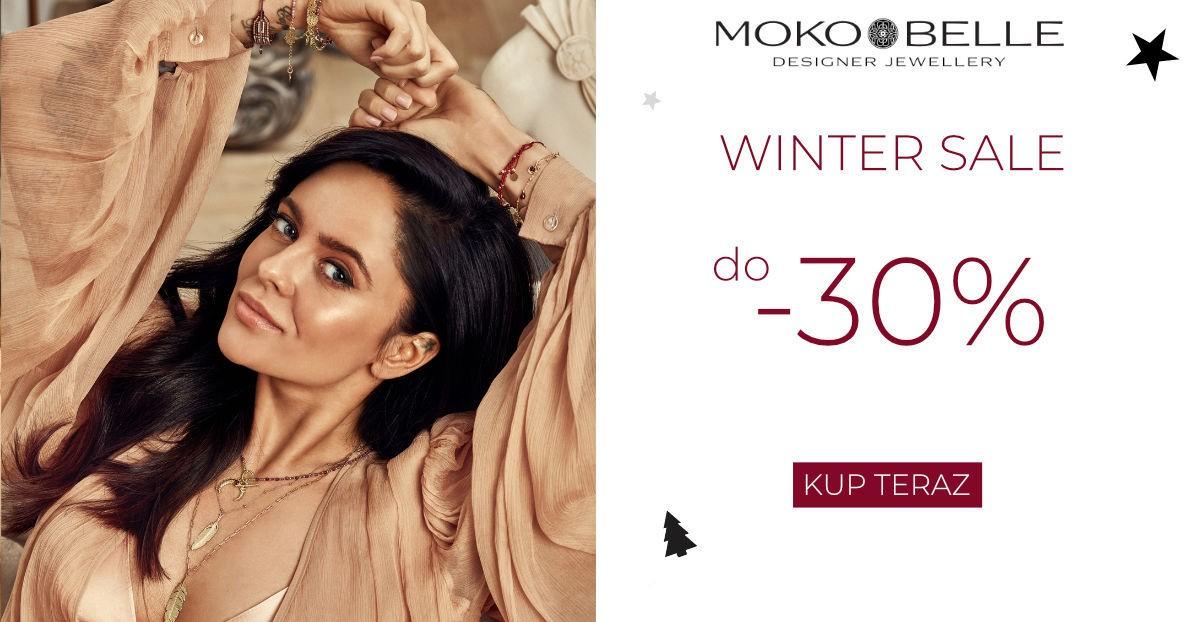 Mokobelle: zimowa wyprzedaż do 30% zniżki na biżuterię