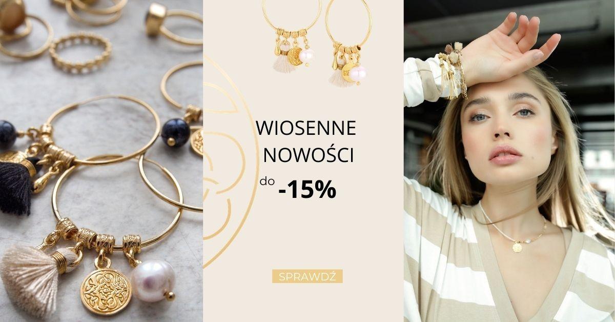 Mokobelle: do 15% zniżki na wiosenną kolekcję biżuterii