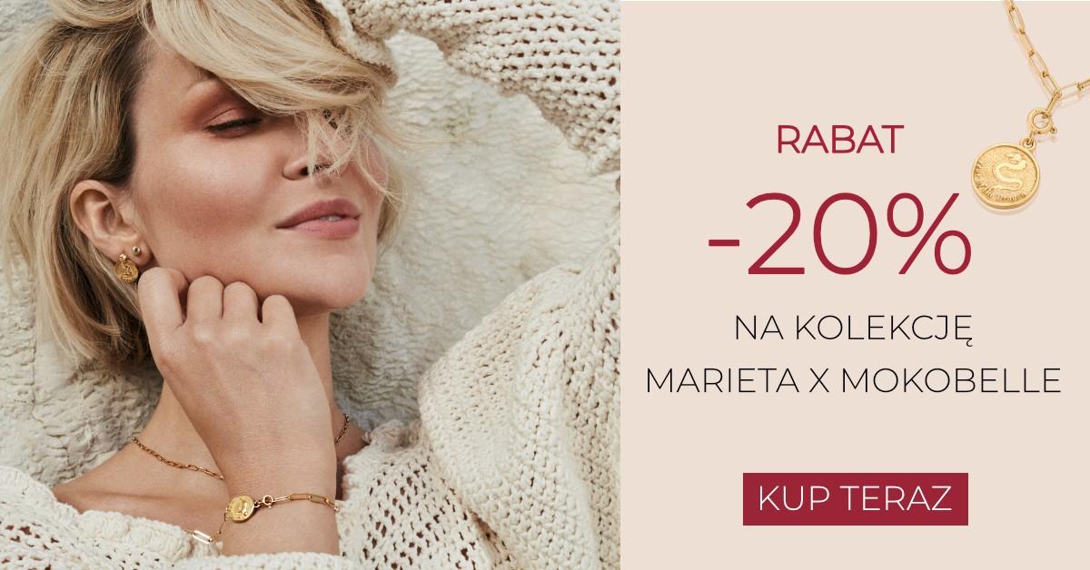Mokobelle: 20% zniżki na kolekcję biżuterii Marieta X Mokobelle