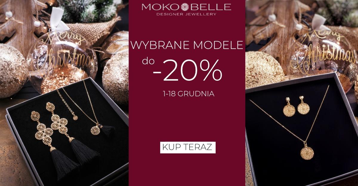 Mokobelle: do 20% zniżki na wybrane modele biżuterii