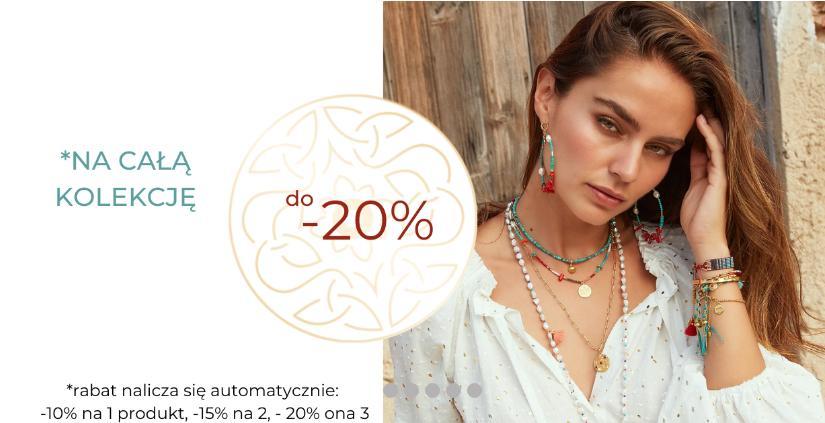 Mokobelle: do 20% rabatu na całą kolekcję biżuterii damskiej
