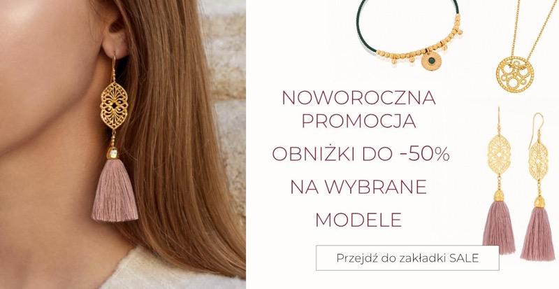 Mokobelle: wyprzedaż do 50% rabatu na wybrane modele biżuterii damskiej