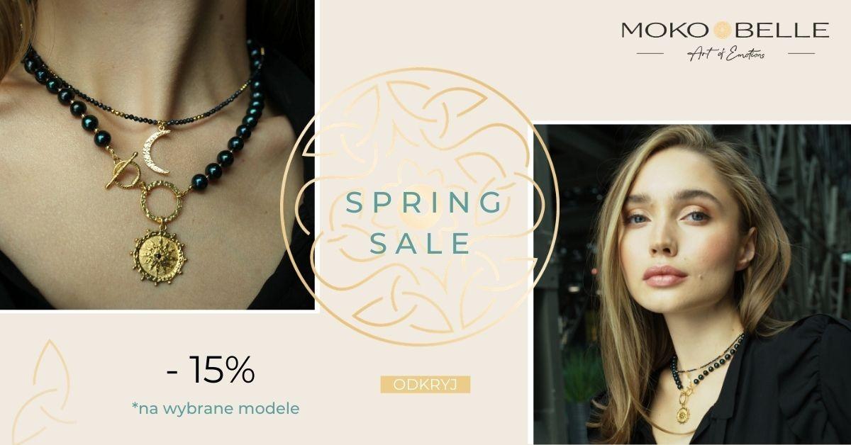 Mokobelle: wiosenna wyprzedaż 15% zniżki na wybrane modele biżuterii