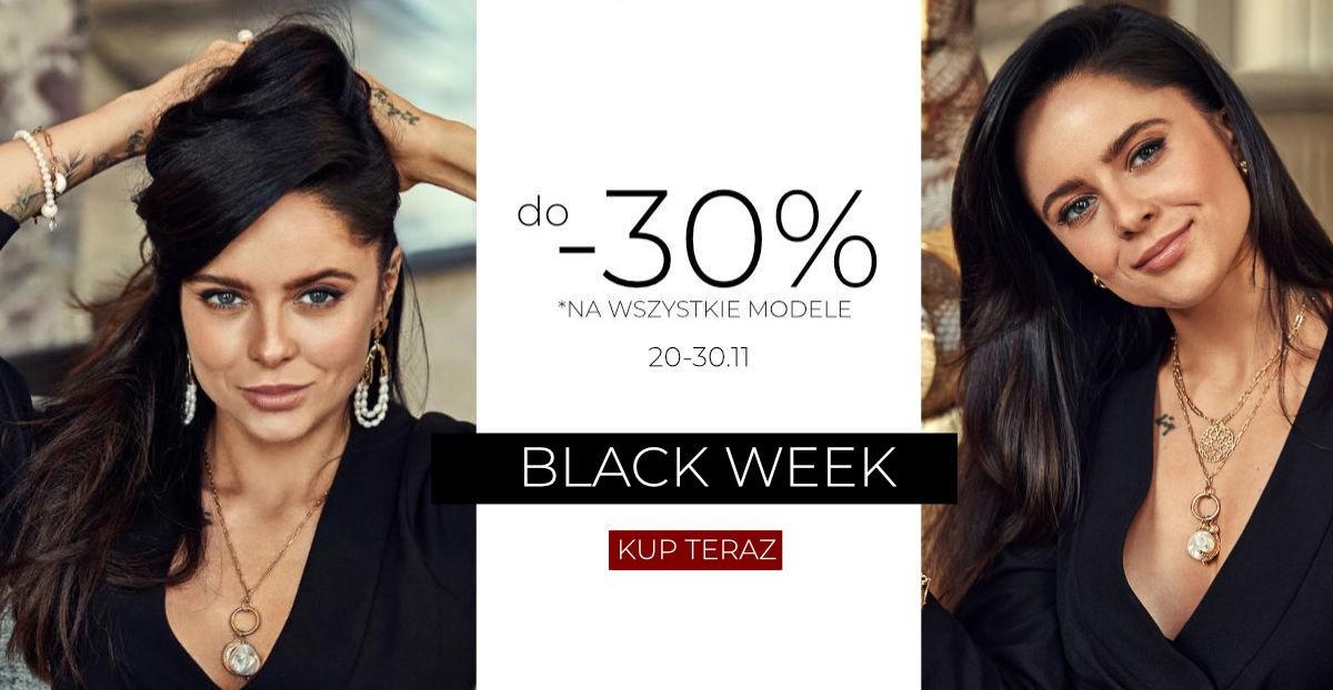 Mokobelle: Black Week do 30% rabatu na wszystkie modele biżuterii