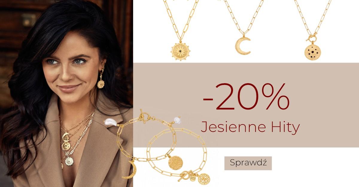Mokobelle: 20% rabatu na jesienne hity biżuterii