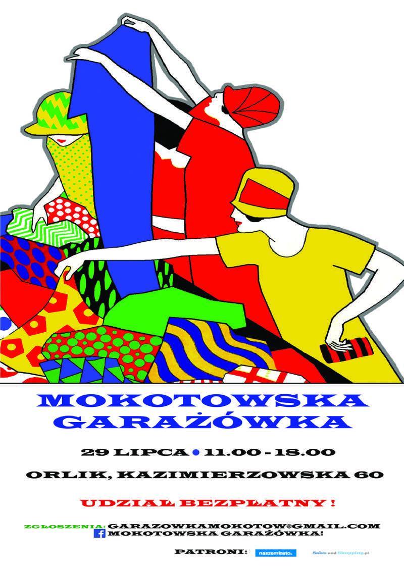 Mokotowska Garażówka w Warszawie 29 lipca 2017