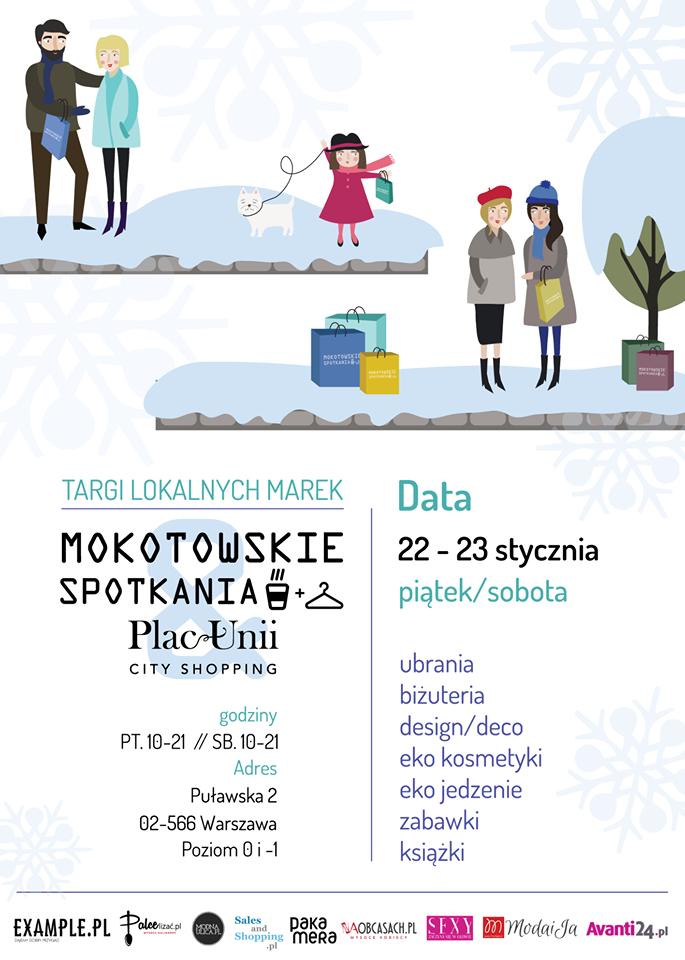 Targi Mody Mokotowskie Spotkania w Warszawie 22-23 stycznia 2016