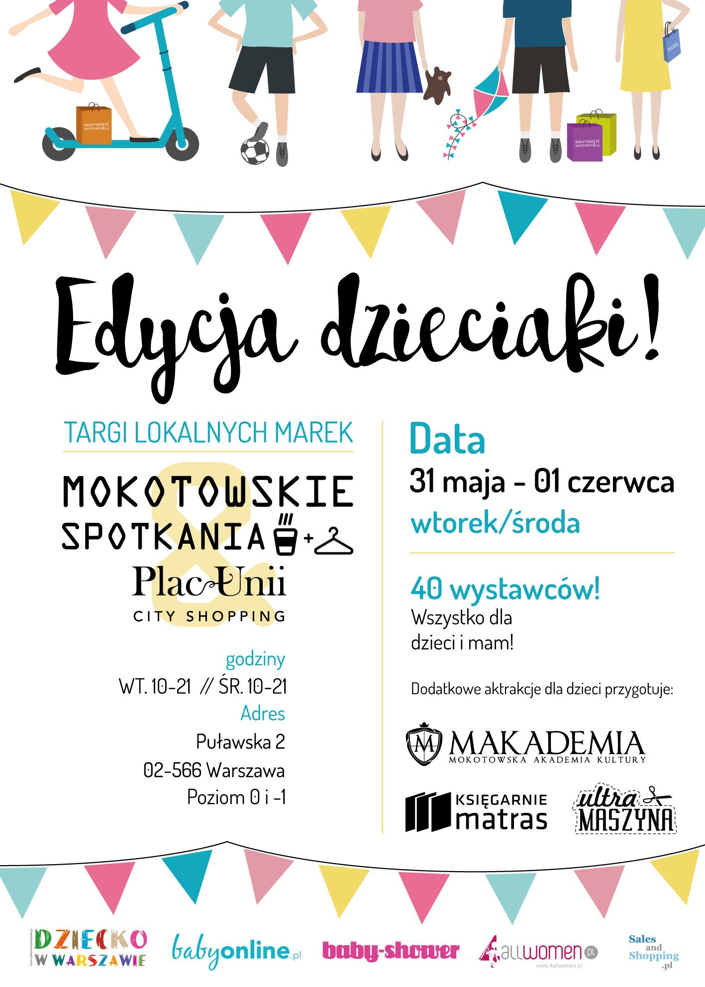 Targi Mody Mokotowskie Spotkania w Warszawie 31 maja - 1 czerwca 2016