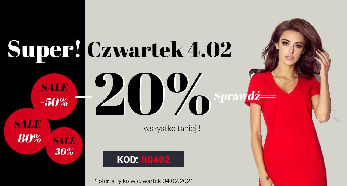 Molly: 20% zniżki na odzież damską