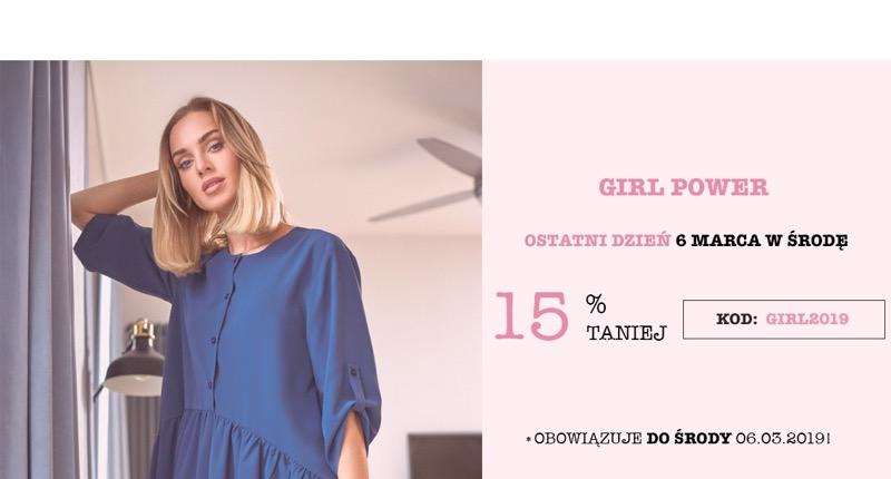 Molly: 15% zniżki na odzież damską z okazji Dnia Kobiet