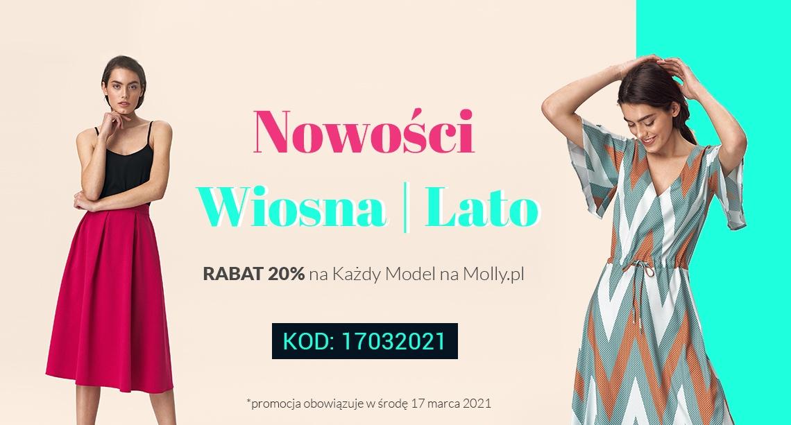 Molly Molly: 20% rabatu na każdy model z kolekcji wiosna/lato