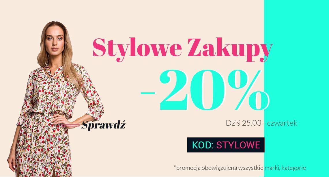 Molly Molly: 20% rabatu na odzież damską - stylowe zakupy