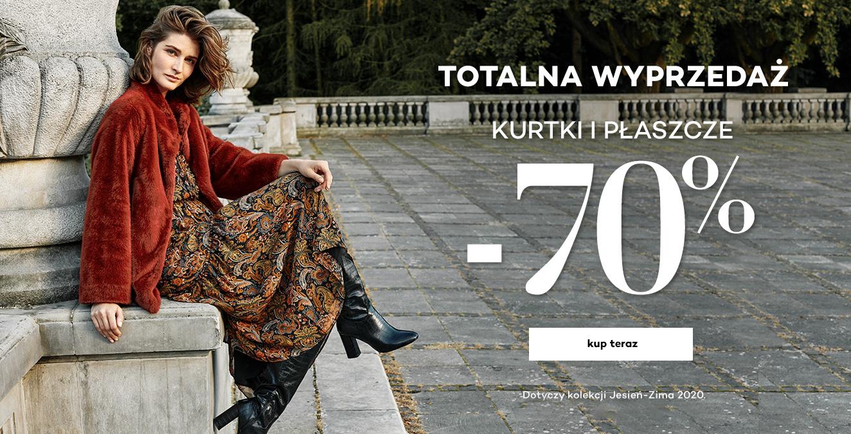 Monnari: wyprzedaż do 70% zniżki na kurtki damskie oraz płaszcze damskie