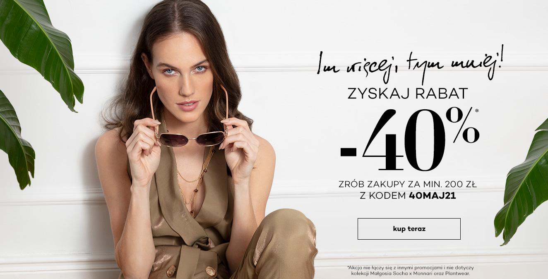 Monnari: 40% rabatu na odzież damską przy zamówieniach za min. 200 zł