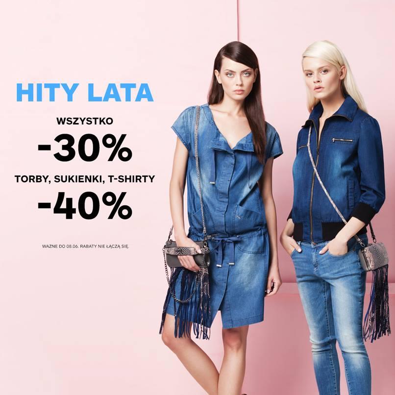Monnari: 30% zniżki na wszystko, 40% zniżki na torby, sukienki, t-shirty