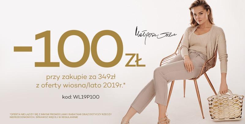 Monnari: 100 zł rabatu przy zakupie za 349 zł z oferty wiosna-lato