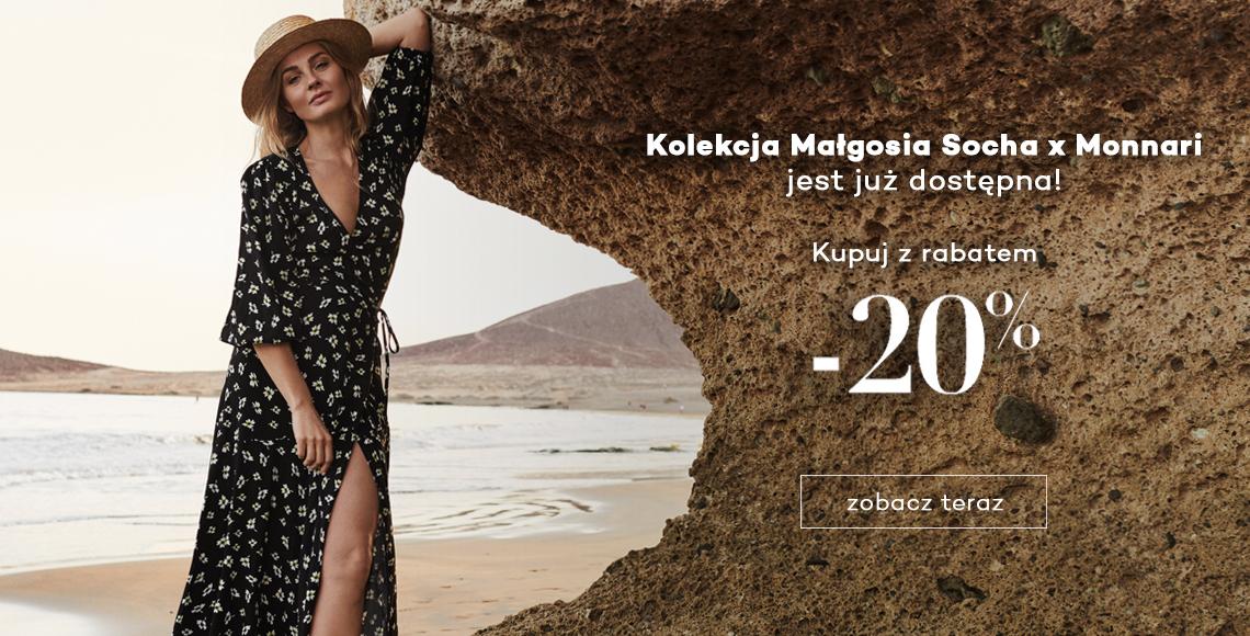Monnari: 20% zniżki na kolekcję odzieży damskiej Małgosi Sochy                         title=