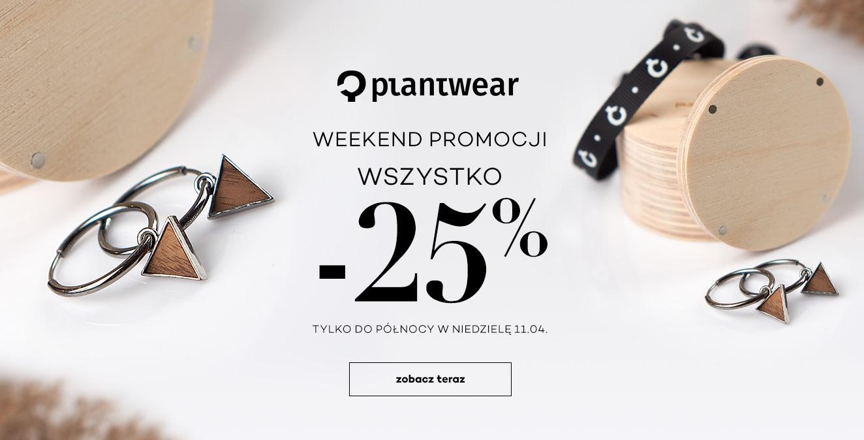 Monnari: 25% rabatu na biżuterię, zegarki i dodatki drewniane marki Plantwear