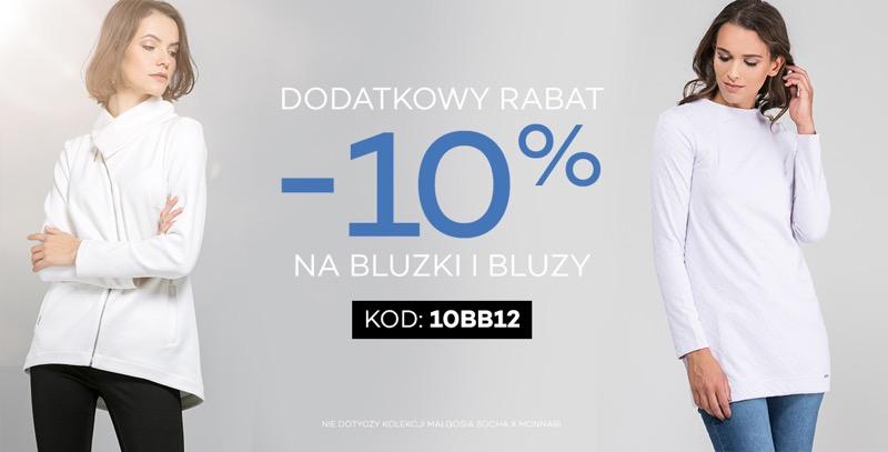 Monnari: dodatkowe 10% rabatu na bluzki i bluzy damskie                         title=