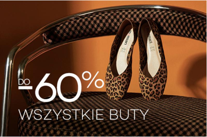Monnari: wyprzedaż do 60% rabatu na wszystkie buty damskie                         title=