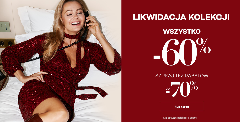 Monnari: wyprzedaż do 70% zniżki na elegancką odzież damską
