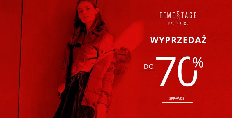 Monnari: wyprzedaż do 70% zniżki na odzież damską marki Femestage